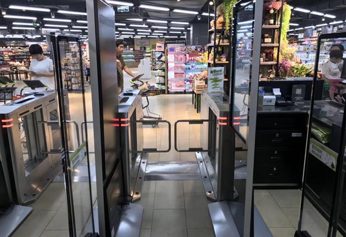 超市无人摆闸