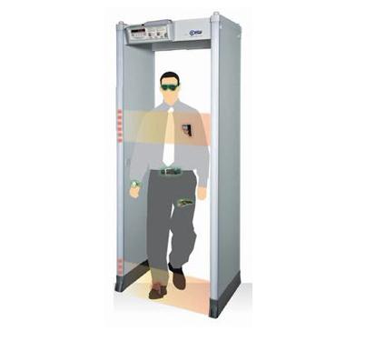 安检门的原理是什么,安检门对人